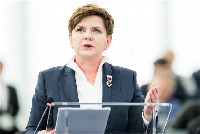 Beata Szydło-European Parliament(CC BY-NC-ND 2.0)