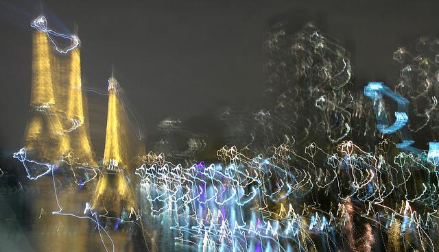 Jean-François Gornet-Tour Eiffel psychédélique(CC BY-SA 2.0)
