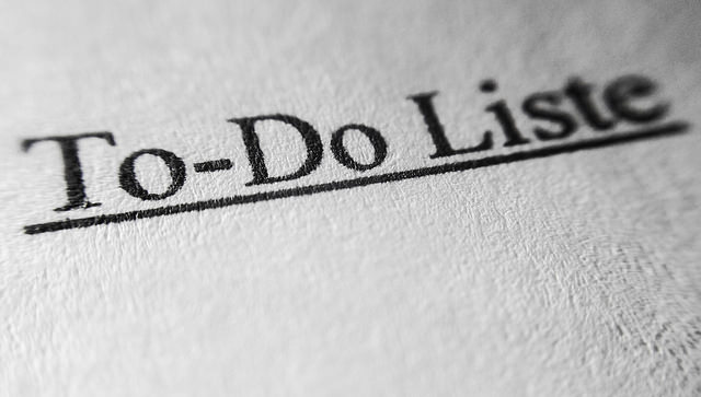 To do liste by Dennis Skley(CC BY-ND 2.0)