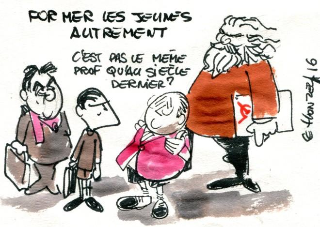 Former les jeunes autrement René Le Honzec