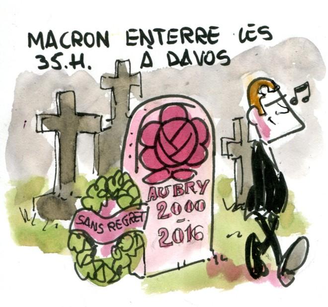 Macron enterre les 35h
