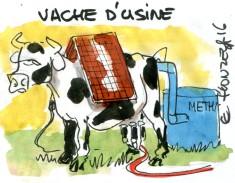 Vache d'usine-René Le Honzec