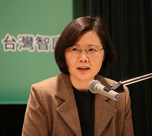 Tsai Ing-wen crédits Davidreid (CC BY-SA 2.0)