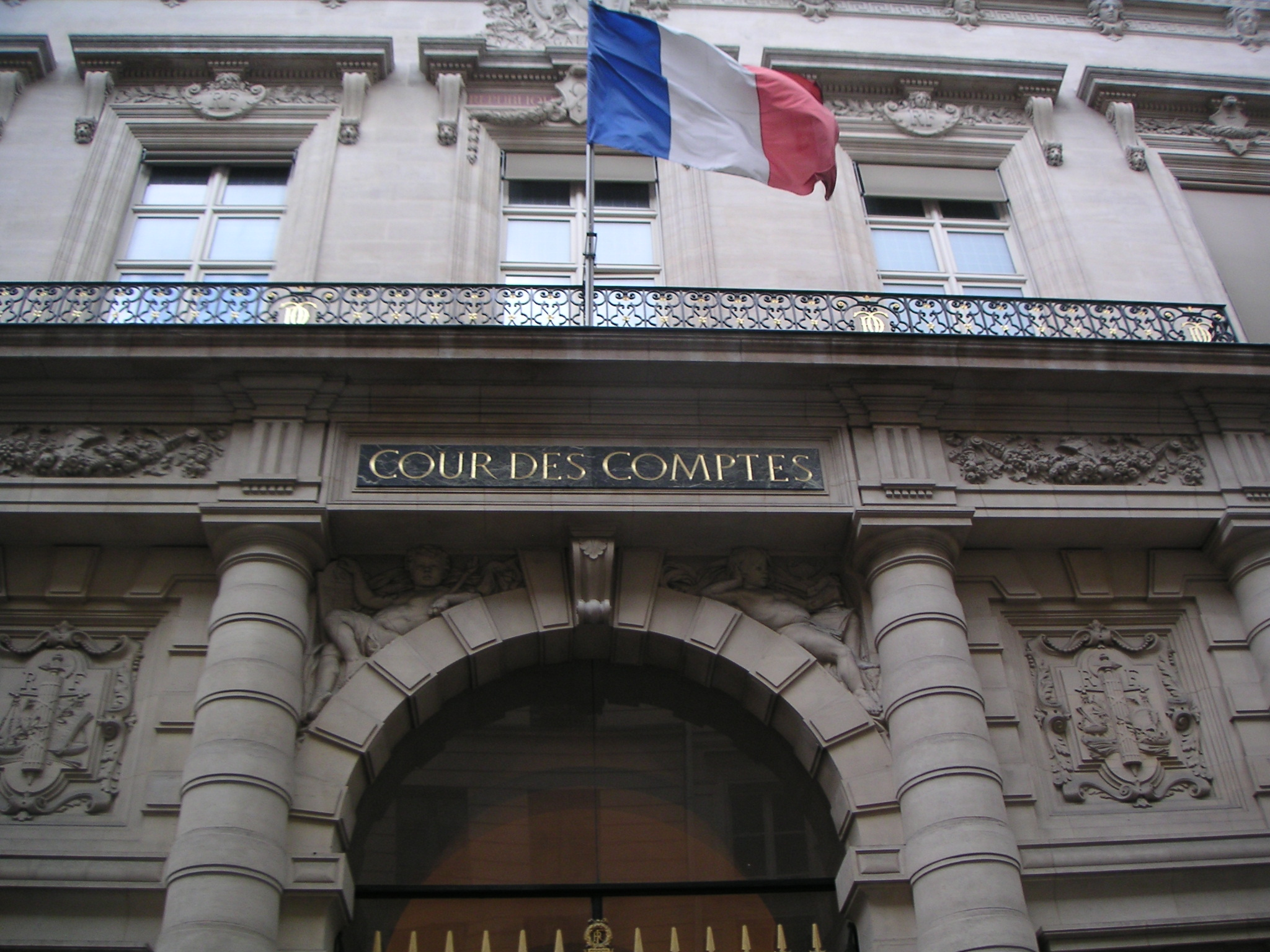 Cour des Comptes à Paris (Crédits : Toun, licence CC-BY-SA 3.0), via Wikimedia.