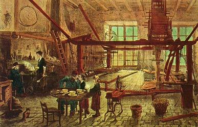 Maison de canut, XIXème siècle, domaine public, wikimedia commons