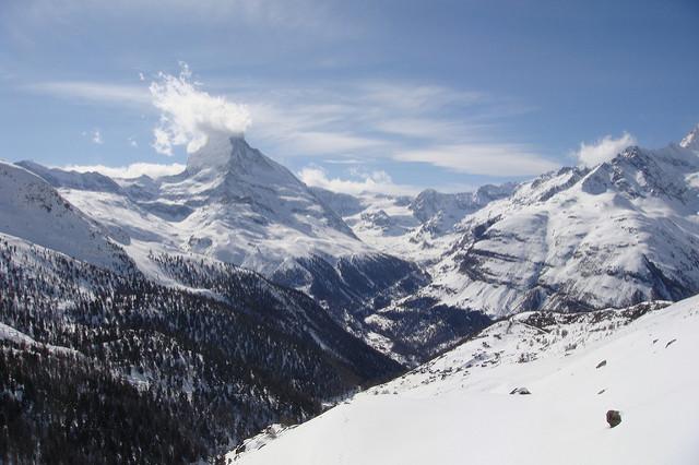 Le Mont Cervin. S'expatrier en Suisse, c'est aussi profiter de ces paysages
