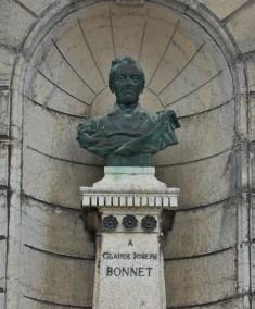 Buste de C-J Bonnet- Wikimedia commons.
