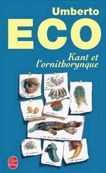 Umberto eco Kant et l ornithorynque