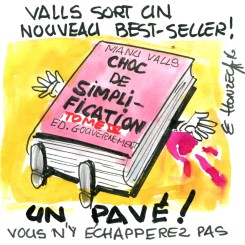Le best-seller de Manuel Valls !