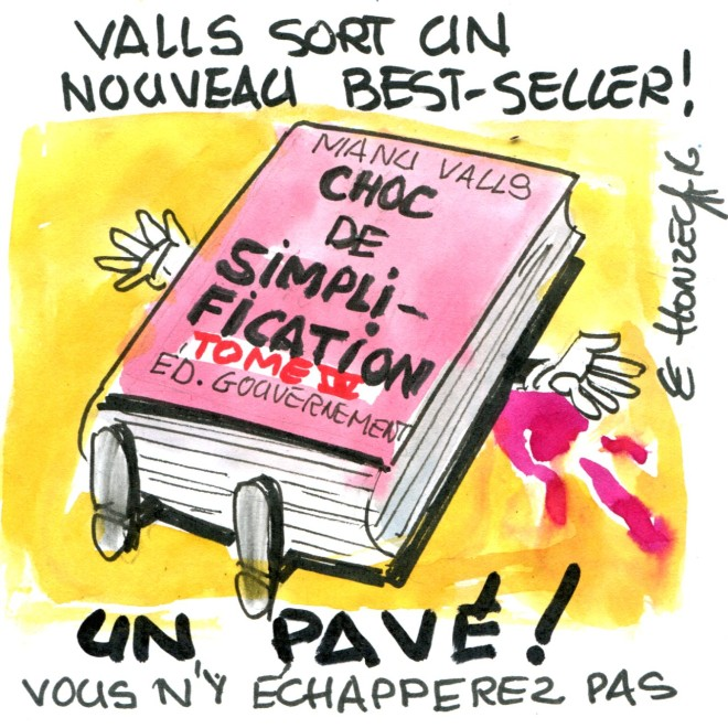 Valls choc de simplification rené le honzec