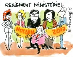 Remaniement ou reniement ministériel ?