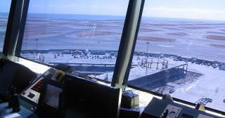 Tour de contrôle à l'aéroport de San Francisco