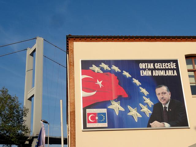 Erdogan, Europe, Turkey, Bosphorus bridge crédits Patrick Muller (CC BY-NC-ND 2.0)