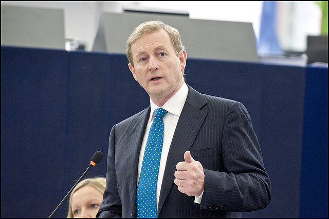 European Parliament_Enda Kenny(CC BY-NC-ND 2.0)