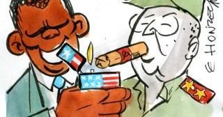 Castro, Obama : la rencontre historique