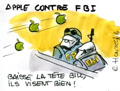 Apple contre FBI rené le honzec