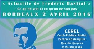 Printemps des libertés : hommage à Bastiat