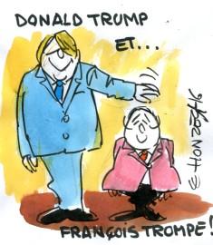 rené le honzec Trump