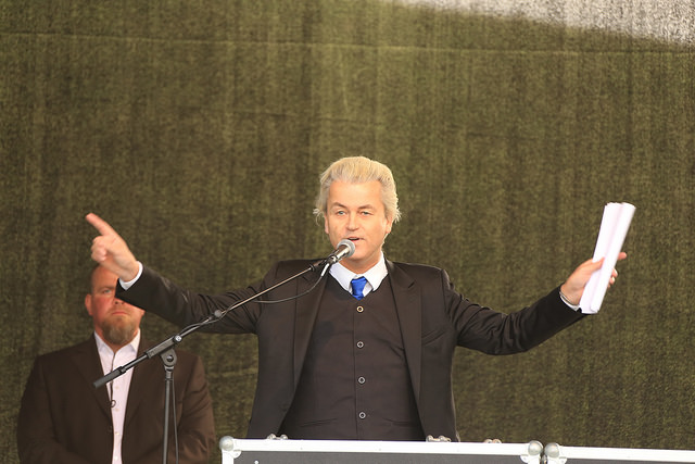 Geert Wilders crédits Metropolico.org (CC BY-SA 2.0)