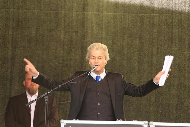 Geert Wilders crédits Metropolico.org (CC BY-SA 2.0)