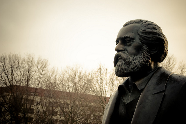 Le philosophe allemand Karl Marx