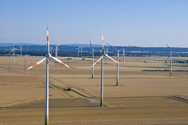 Photo: wind park in Lower Saxony, for illustration only, Philip May, CC BY-SA 3.0.
