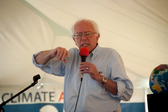 Bernie Sanders en campagne