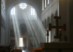 Eglise dans la pénombre