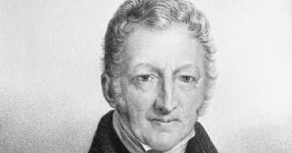 L'économiste Thomas Malthus