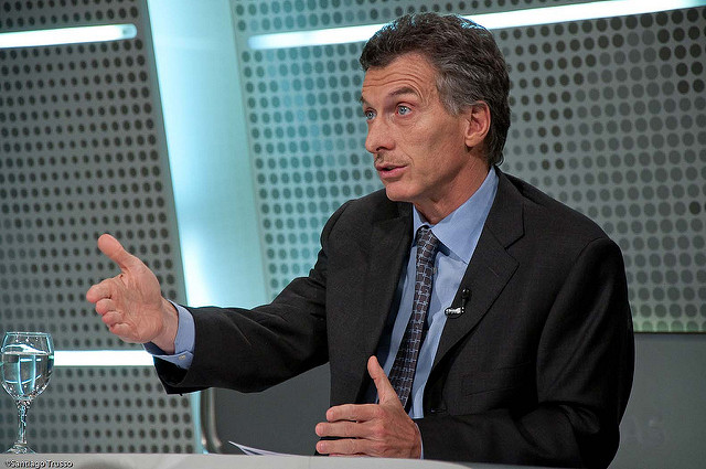 Mauricio Macri by Santiago Trusso(CC BY-NC-ND 2.0)