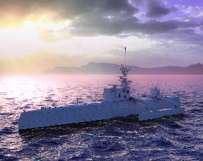 Sea Hunter, un vaisseau autonome de la DARPA