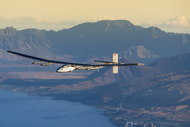 Vol de Solar Impulse en mars 2016