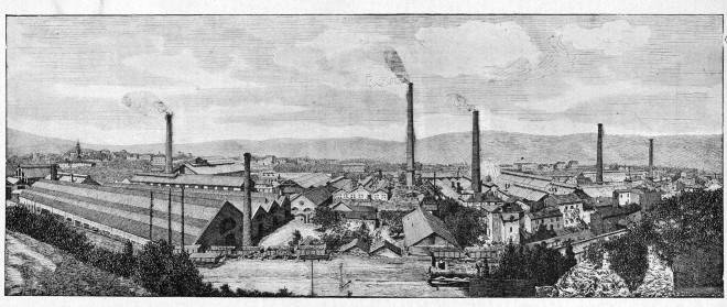 Les Forges et Aciéries de la Marine à Saint-Chamond, collection particulière