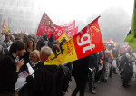 Manifestation Solidaires CGT