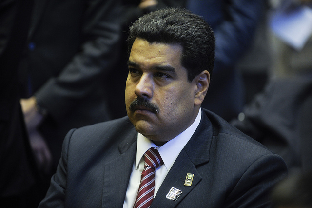 Nicholas Maduro, président du Venezuela