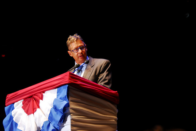 Gary Johnson, possible candidat du Parti Libertarien américain