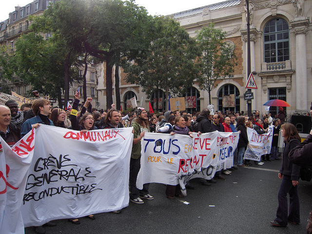 La France, pays des blocages