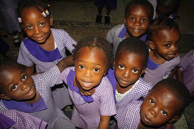 Enfants au Ghana