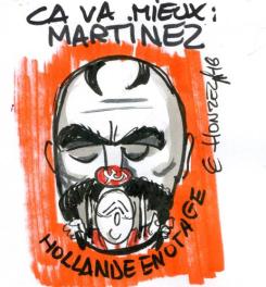 Hollande otage de la CGT