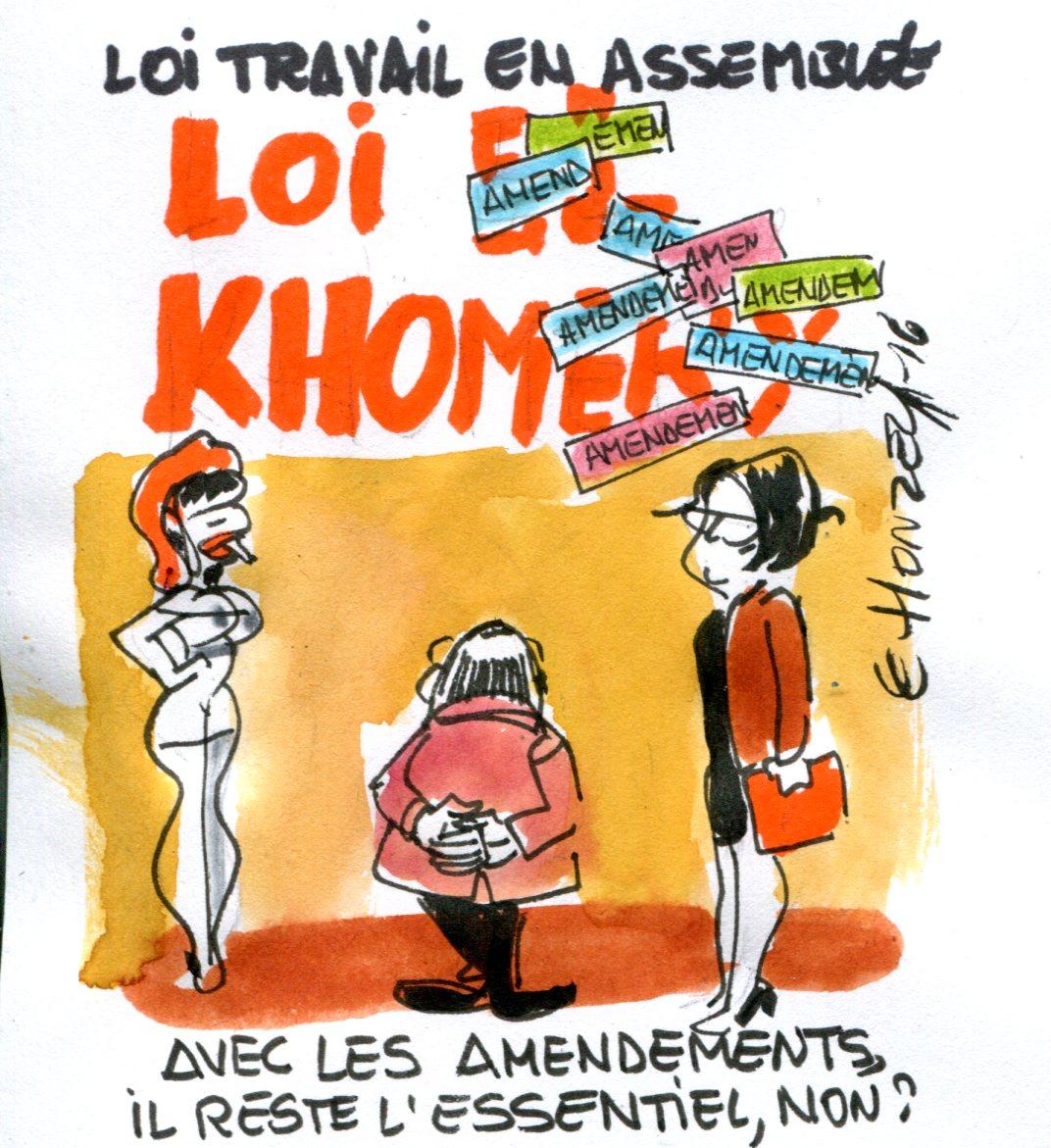 La Loi El-Khomri (Loi Travail) à l'Assemblée