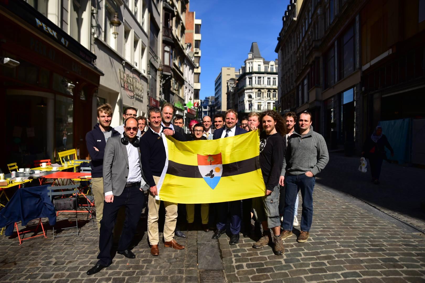 Visite du Parti Libertarien Belge au Liberland