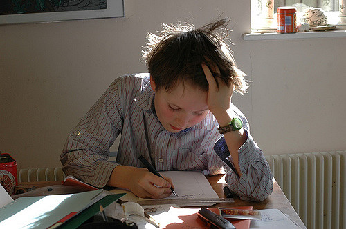 homework by henry(CC BY-NC-ND 2.0)