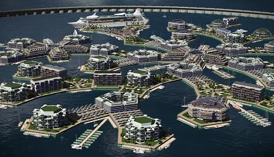 Villes flottantes, bientôt une réalité ?