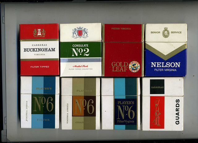 Cigarette Packets by Sludge G(CC BY-SA 2.0)