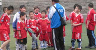 Comment la Chine compte devenir un grand pays du football