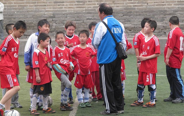 Comment la Chine compte devenir un grand pays du football