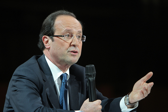François Hollande by Parti socialiste (CC BY-NC-ND 2.0)