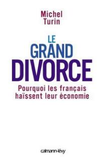 Le grand divorce. Pourquoi les français haissent leur économie Michel Turin