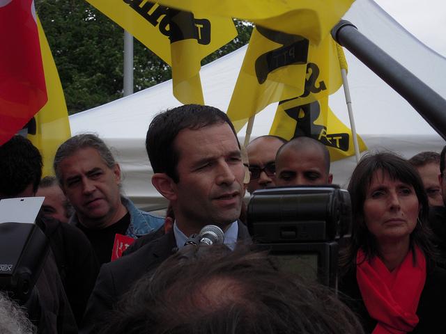 Benoît Hamon, le candidat de la gauche d'hier