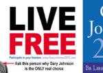 Présidentielle américaine : les succès de Gary Johnson, un vrai libéral